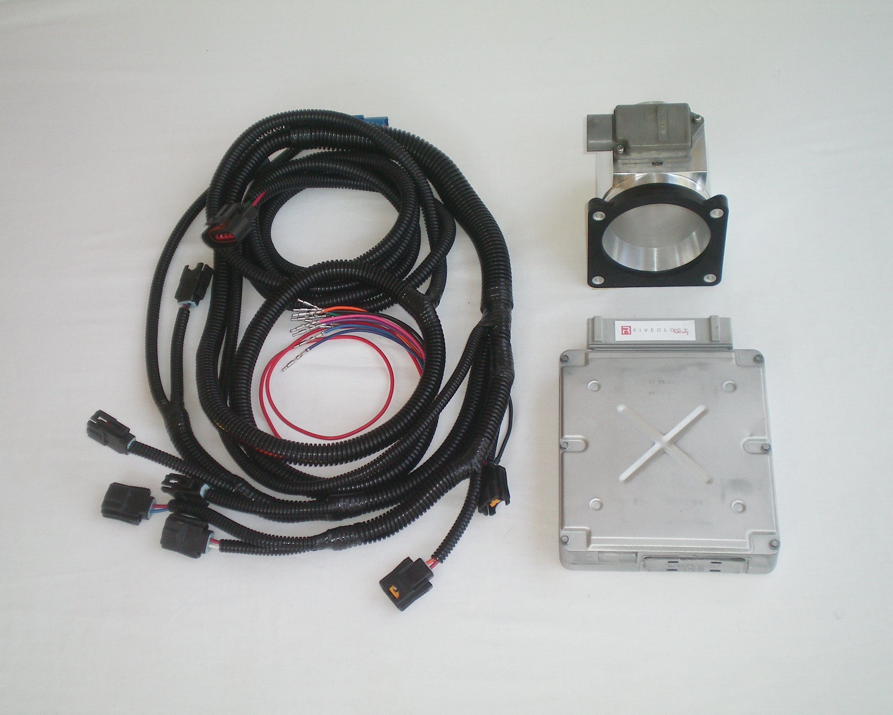 1996 F250 E4od Wiring Harness Explained Diagrams Swap 1988 97 Ford F Series 7 5l Mass Air Conversion Kit Trailer